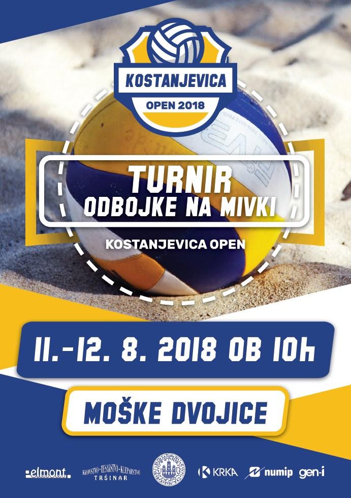 Turnir odbojke na mivki – Kostanjevica open